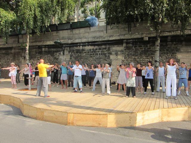 Fin Paris Plages 2012